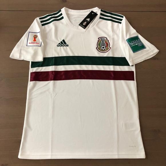 c4a02da2f Mexico white Soccer Jersey adidas men World Cup